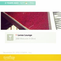 Photo taken at Lenox Lounge by Aparna M. on 11/1/2014