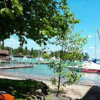 Photo taken at Hotel am See by Tobias on 7/21/2013