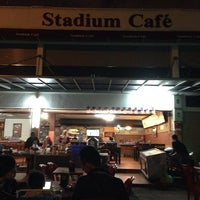 Photo taken at Stadium Cafe by pinky on 9/15/2014
