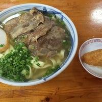 Photo taken at 沖縄の味 アワセそば食堂 by mu o. on 9/10/2016