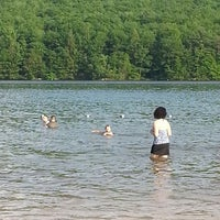 Photo taken at Mauch Chunk Lake Park by Jarrad G. on 6/1/2013