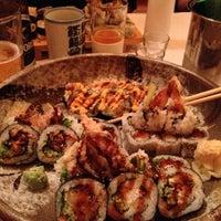 Photo taken at Sushi Yasu by Carlos M. on 5/8/2013