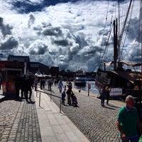Photo taken at Hafen Wismar by Alexey M. on 6/14/2014