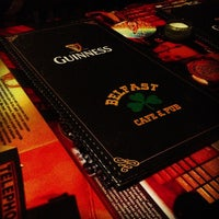 Photo taken at Belfast Irish Pub by Defne A. on 3/17/2013