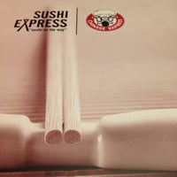 Photo taken at Sushi Express & Chinese Express by Defne A. on 10/20/2012