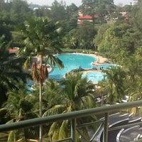 Photo taken at Klana Resort Seremban by Gordon Tan 陳. on 7/13/2013