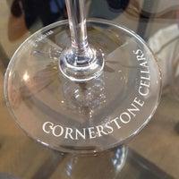 Photo taken at Cornerstone Cellars by Brad D. on 10/9/2013