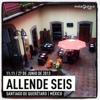 Photo taken at Allende Seis by Consuelo A. on 6/27/2013
