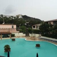Photo taken at Colonna Park Porto Cervo Hotel North Sardinia by Mirjana V. on 7/24/2016