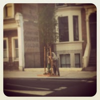Photo taken at East Dulwich Road Peckham Rye bus stop by Sarah C. on 7/13/2013