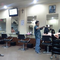 Photo taken at Victory Salon by Shasha A. on 1/11/2013