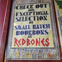 Photo taken at Redbones Barbecue by Ashley on 10/20/2012