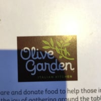 Photo taken at Olive Garden by Travis E. on 5/23/2017