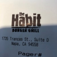 Photo taken at The Habit Burger Grill by Travis E. on 3/19/2018