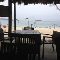 Photo taken at The Landing, Cafe Beach Bar by Carlo on 5/3/2014