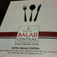 Photo taken at Hotel Balaji Central by Saif H. on 10/27/2013