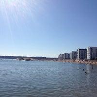 Снимок сделан в Aurinkolahden uimaranta пользователем Zhanna T. 7/28/2013