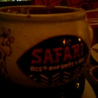 Photo taken at Safari Restaurante e Bar by Larissa S. on 4/26/2013