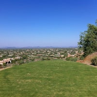 Photo taken at Desert Highlands Golf Club by Eric F. on 9/15/2012