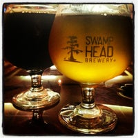 Photo taken at Swamp Head Brewery by Jen on 11/29/2012