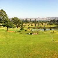 Photo taken at Santiago Club de Golf by Tania on 12/17/2013