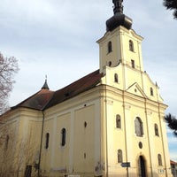 Photo taken at Kostel sv. Jana Evangelisty by Tomas Z. on 2/15/2014