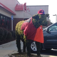 Photo taken at Chick-fil-A Clemson Blvd. by April on 11/30/2013