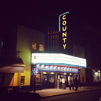 Photo taken at County Theater by José on 12/31/2013