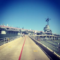 Photo taken at USS Lexington Museum On The Bay by José on 6/1/2013