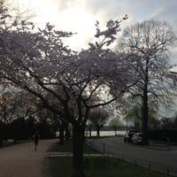 Photo taken at Alster Running Trail by just m. on 4/25/2013
