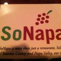 Photo prise au SoNapa Grille par Justin H. le1/19/2013