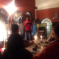 Photo taken at Mestizo Café Cultural by Sergio R. on 11/2/2013