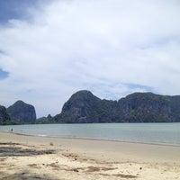 Photo taken at Rajamangala Beach by NRCMHM on 4/27/2014