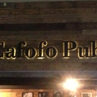 Foto tirada no(a) Cafofo Pub por d'alessandro m. em 3/28/2013