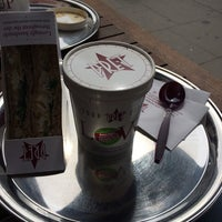 Photo taken at Pret A Manger by Elvira S. on 4/17/2014