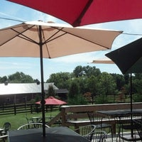 Photo taken at Hunter's Run Wine Barn by Brian D. on 9/7/2013