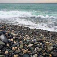 Снимок сделан в Самый южный пляж России пользователем Tatiana M. 10/23/2015