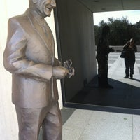 Photo taken at The Lyndon Baines Johnson Library and Museum by Karen F. on 2/26/2013