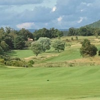 Photo taken at Rocky Gap Casino's Jack Nicklaus Signature Golf Course by Kay S. on 7/4/2013
