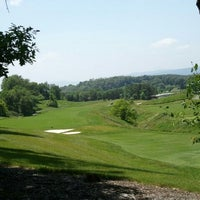 Photo taken at Rocky Gap Casino's Jack Nicklaus Signature Golf Course by Kay S. on 6/8/2013