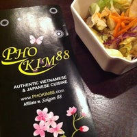 Photo taken at Pho Kim 88 by Sean on 11/22/2012