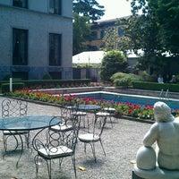 Photo taken at Villa Necchi Campiglio by Michele M. on 5/23/2013