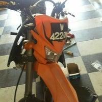 Photo taken at Kedai motosikal PMM Motors by zulhilmi z. on 11/19/2015