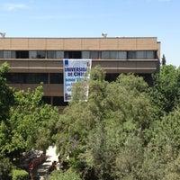 Photo taken at Facultad de Ciencias Sociales Universidad de Chile by Tomas D. on 11/27/2012