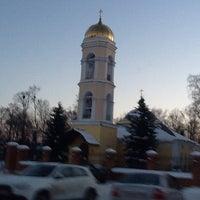 Photo taken at Храм Святителя Николая в Жегалово by Андрей В. on 12/15/2012