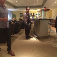 Photo taken at Cathay Pacific Lounge by Hideo Y. on 5/7/2015