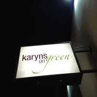 Photo taken at Karyn's on Green by Suli C. on 3/15/2013
