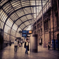 Photo taken at Strasbourg Railway Station by Christophe on 9/18/2012