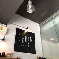 Photo taken at Chuen Juice Bar by ashley on 6/1/2017