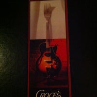 Photo taken at Croce's Restaurant & Jazz Bar by Gregory on 10/15/2012